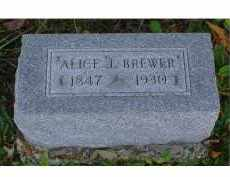 BREWER, ALICE J. - Adams County, Ohio | ALICE J. BREWER - Ohio Gravestone Photos