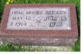 MOORE BRICKEY, OPAL - Adams County, Ohio | OPAL MOORE BRICKEY - Ohio Gravestone Photos