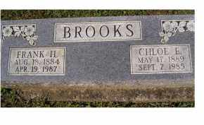 BROOKS, FRANK H. - Adams County, Ohio | FRANK H. BROOKS - Ohio Gravestone Photos