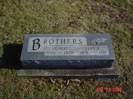 BROTHERS, DELBERT - Adams County, Ohio | DELBERT BROTHERS - Ohio Gravestone Photos