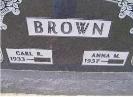 BROWN, CARL R. - Adams County, Ohio | CARL R. BROWN - Ohio Gravestone Photos