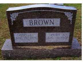 BROWN, RUTH A. - Adams County, Ohio | RUTH A. BROWN - Ohio Gravestone Photos