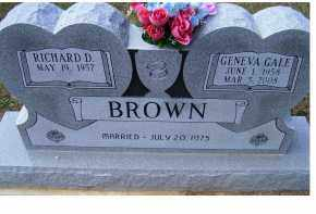 BROWN, RICHARD D. - Adams County, Ohio | RICHARD D. BROWN - Ohio Gravestone Photos