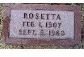 BROWN, ROSETTA - Adams County, Ohio | ROSETTA BROWN - Ohio Gravestone Photos