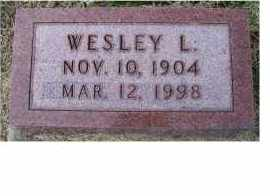 BROWN, WESLEY L. - Adams County, Ohio | WESLEY L. BROWN - Ohio Gravestone Photos
