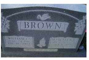 BROWN, WILLIAM C. - Adams County, Ohio | WILLIAM C. BROWN - Ohio Gravestone Photos
