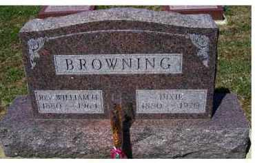BROWNING, WILLIAM H. - Adams County, Ohio | WILLIAM H. BROWNING - Ohio Gravestone Photos