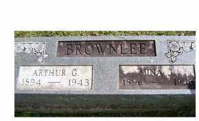 BROWNLEE, NINA J. - Adams County, Ohio | NINA J. BROWNLEE - Ohio Gravestone Photos