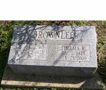 BROWNLEE, THELMA R. - Adams County, Ohio | THELMA R. BROWNLEE - Ohio Gravestone Photos