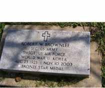 BROWNLEE, ROBERT W. - Adams County, Ohio   ROBERT W. BROWNLEE - Ohio Gravestone Photos