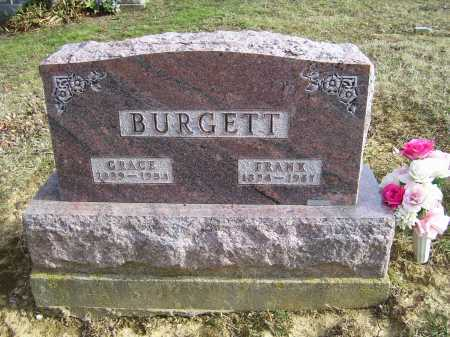 BURGETT, GRACE - Adams County, Ohio | GRACE BURGETT - Ohio Gravestone Photos