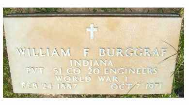 BURGRAF, WILLIAM F. - Adams County, Ohio | WILLIAM F. BURGRAF - Ohio Gravestone Photos