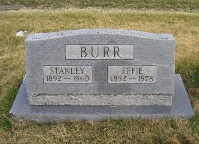 BURR, STANLEY - Adams County, Ohio | STANLEY BURR - Ohio Gravestone Photos
