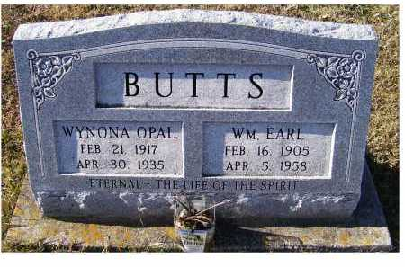 BUTTS, WM. EARL - Adams County, Ohio | WM. EARL BUTTS - Ohio Gravestone Photos