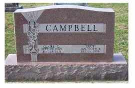 CAMPBELL, LUCY - Adams County, Ohio | LUCY CAMPBELL - Ohio Gravestone Photos