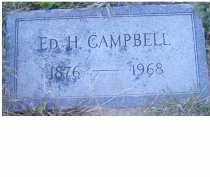 CAMPBELL, ED H. - Adams County, Ohio | ED H. CAMPBELL - Ohio Gravestone Photos