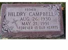 CAMPBELL, HILDRY - Adams County, Ohio | HILDRY CAMPBELL - Ohio Gravestone Photos