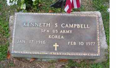 CAMPBELL, KENNETH S. - Adams County, Ohio | KENNETH S. CAMPBELL - Ohio Gravestone Photos