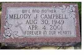 CAMPBELL, MELODY J. - Adams County, Ohio | MELODY J. CAMPBELL - Ohio Gravestone Photos
