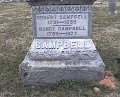 CAMPBELL, NANCY - Adams County, Ohio | NANCY CAMPBELL - Ohio Gravestone Photos