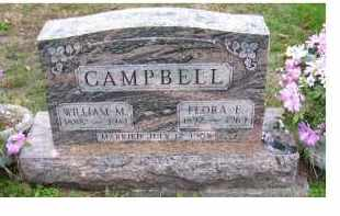 CAMPBELL, FLORA E. - Adams County, Ohio | FLORA E. CAMPBELL - Ohio Gravestone Photos