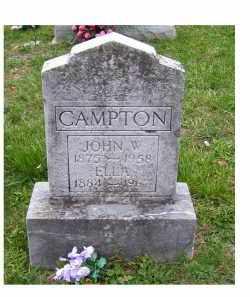 CAMPTON, JOHN W. - Adams County, Ohio | JOHN W. CAMPTON - Ohio Gravestone Photos