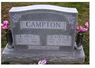 CAMPTON, ALBERTA B. - Adams County, Ohio | ALBERTA B. CAMPTON - Ohio Gravestone Photos