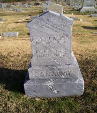 CARAWAY, MOLLIE - Adams County, Ohio | MOLLIE CARAWAY - Ohio Gravestone Photos