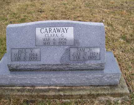 CARAWAY, SAM JR. - Adams County, Ohio | SAM JR. CARAWAY - Ohio Gravestone Photos