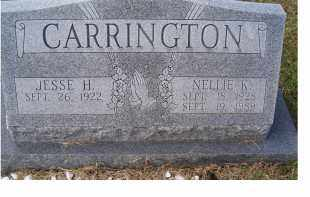 CARRINGTON, NELLIE K. - Adams County, Ohio | NELLIE K. CARRINGTON - Ohio Gravestone Photos