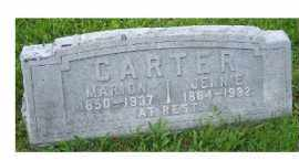 CARTER, JENNIE - Adams County, Ohio | JENNIE CARTER - Ohio Gravestone Photos