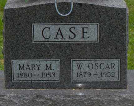 CASE, MARY M - Adams County, Ohio | MARY M CASE - Ohio Gravestone Photos
