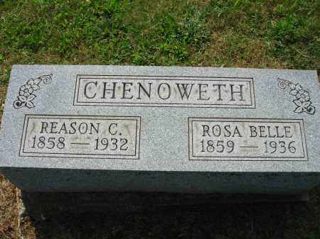 CHENOWETH, ROSA BELLE - Adams County, Ohio | ROSA BELLE CHENOWETH - Ohio Gravestone Photos