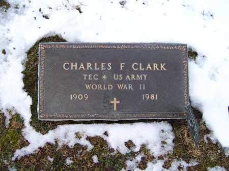 CLARK, CHARLES F. - Adams County, Ohio | CHARLES F. CLARK - Ohio Gravestone Photos