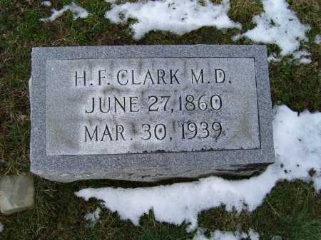 CLARK, H.F. - Adams County, Ohio | H.F. CLARK - Ohio Gravestone Photos