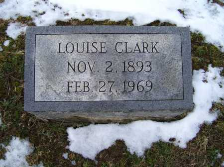 CLARK, LOUISE - Adams County, Ohio | LOUISE CLARK - Ohio Gravestone Photos