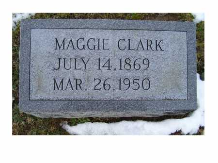 CLARK, MAGGIE - Adams County, Ohio | MAGGIE CLARK - Ohio Gravestone Photos