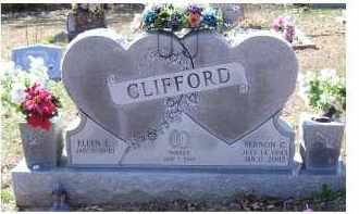 CLIFFORD, ELLEN L. - Adams County, Ohio | ELLEN L. CLIFFORD - Ohio Gravestone Photos