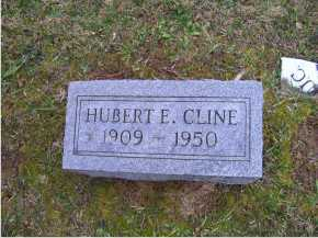 CLINE, HUBERT E. - Adams County, Ohio | HUBERT E. CLINE - Ohio Gravestone Photos