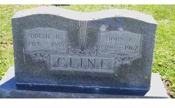 CLINE, DOLLIE D. - Adams County, Ohio | DOLLIE D. CLINE - Ohio Gravestone Photos