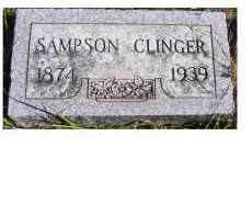 CLINGER, SAMPSON - Adams County, Ohio | SAMPSON CLINGER - Ohio Gravestone Photos