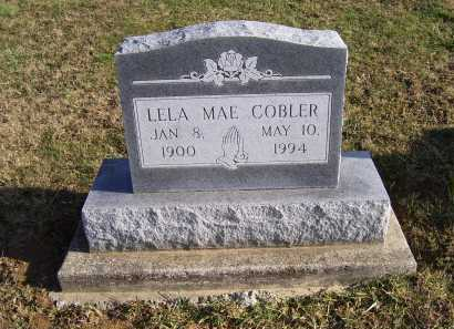 COBLER, LELA MAE - Adams County, Ohio | LELA MAE COBLER - Ohio Gravestone Photos