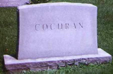 COCHRAN, CORA A - Adams County, Ohio | CORA A COCHRAN - Ohio Gravestone Photos