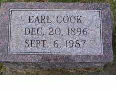COOK, EARL - Adams County, Ohio | EARL COOK - Ohio Gravestone Photos