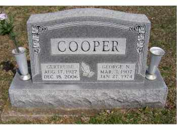 COOPER, GEORGE N. - Adams County, Ohio | GEORGE N. COOPER - Ohio Gravestone Photos