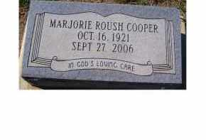 ROUSH COOPER, MARJORIE - Adams County, Ohio | MARJORIE ROUSH COOPER - Ohio Gravestone Photos
