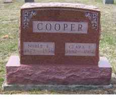 COOPER, NOBLE E. - Adams County, Ohio | NOBLE E. COOPER - Ohio Gravestone Photos