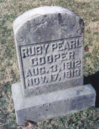 COOPER, RUBY PEARL - Adams County, Ohio | RUBY PEARL COOPER - Ohio Gravestone Photos