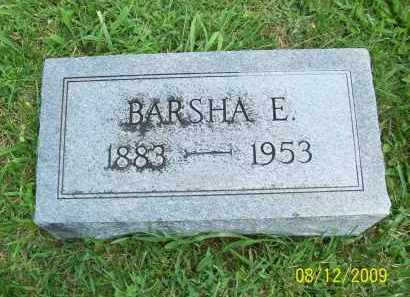 COPAS, BARSHA E - Adams County, Ohio | BARSHA E COPAS - Ohio Gravestone Photos