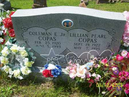 COPAS, LILLIAN PEARL - Adams County, Ohio | LILLIAN PEARL COPAS - Ohio Gravestone Photos